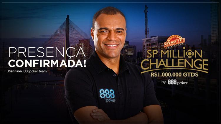 Denílson confirma presença no SP Million/CardPlayer.com.br