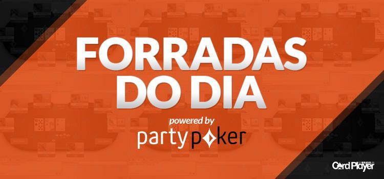 """""""LCF_PKG_15"""" e """"PLOoNlY"""" fazem dobradinha no $215 Big Tuesday Bounty Hunter/CardPlayer.com.br"""