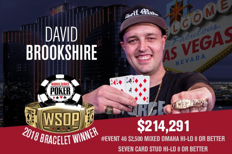 David Brookshire conquista o título do Evento 46 da WSOP/CardPlayer.com.br