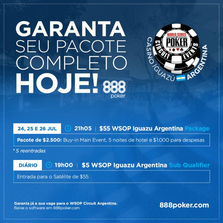 888poker realiza satélites especiais para o WSOP Circuit Argentina/CardPlayer.com.br