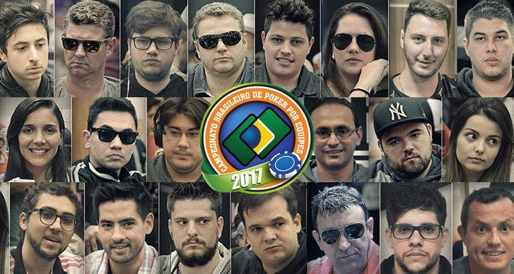 Conheça todos os jogadores do Campeonato Brasileiro por Equipes 2017/CardPlayer.com.br