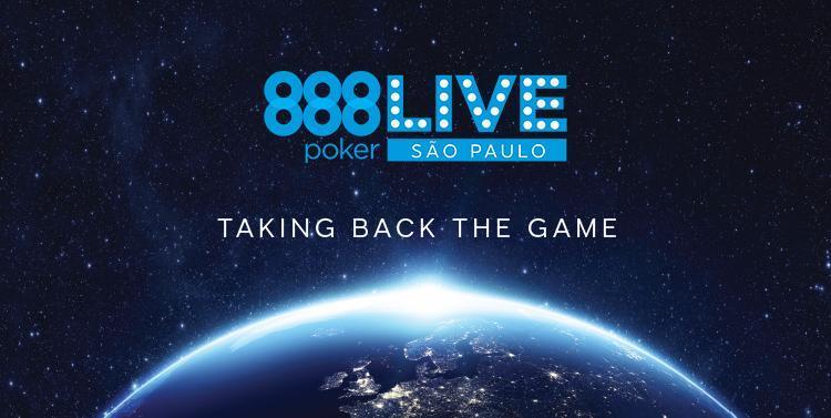 São Paulo vai receber etapa da nova temporada do 888Live /CardPlayer.com.br