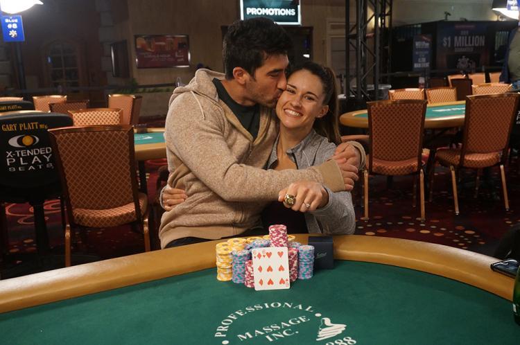 Casal Ashley Sleeth e Jesse Sylvia vence torneios em Las Vegas/CardPlayer.com.br