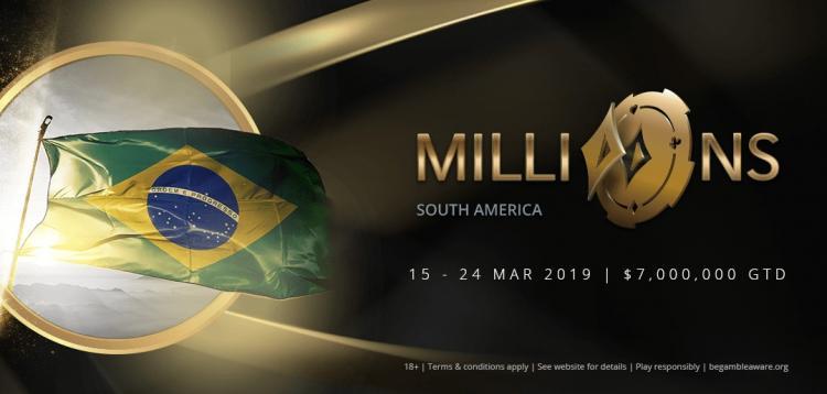 Torneio de estreia do MILLIONS Rio vai distribuir várias vagas para o Main Event/CardPlayer.com.br