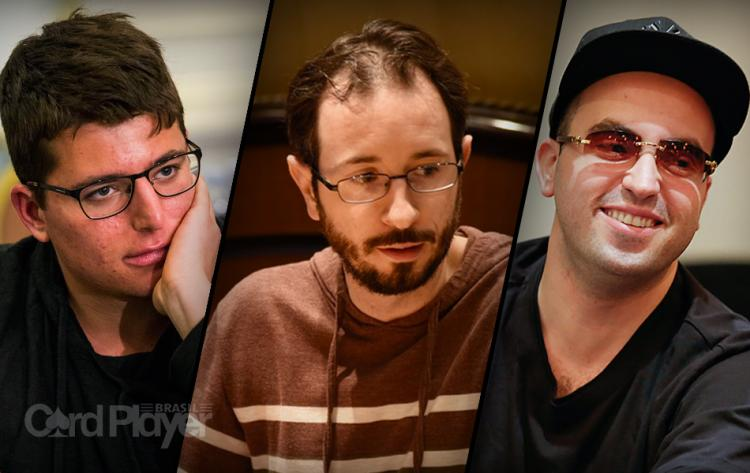 Jake Schindler, Brian Rast e Bryn Kenney cravam high rollers do Aria/CardPlayer.com.br