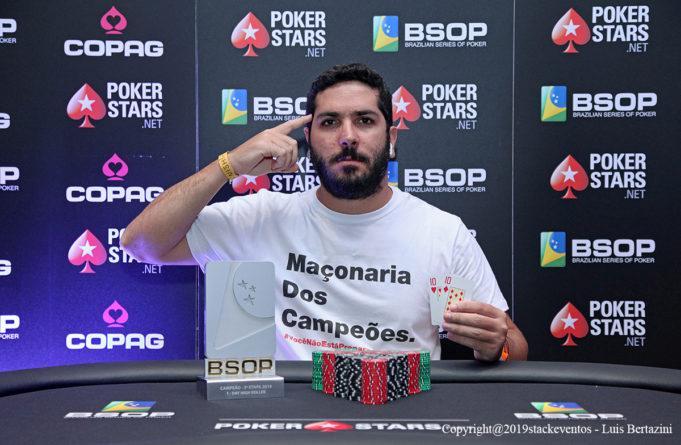 Luiz Cláudio Cunha é campeão do 1-Day High Roller do BSOP Salvador/CardPlayer.com.br