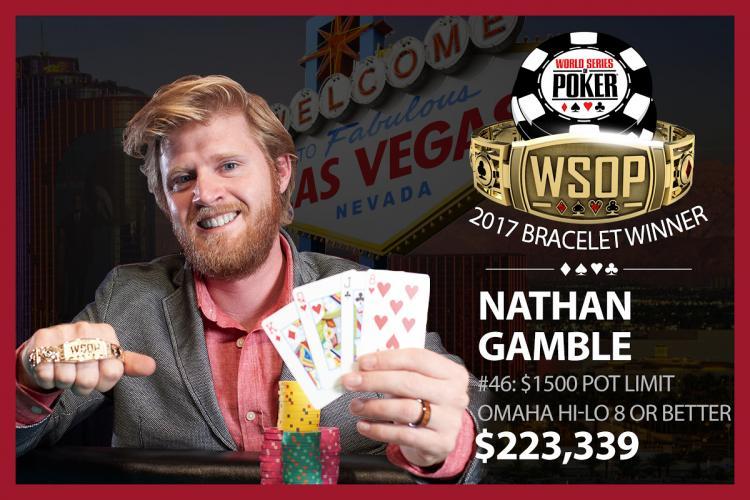 Nathan Gamble crava o Evento 46 da WSOP/CardPlayer.com.br
