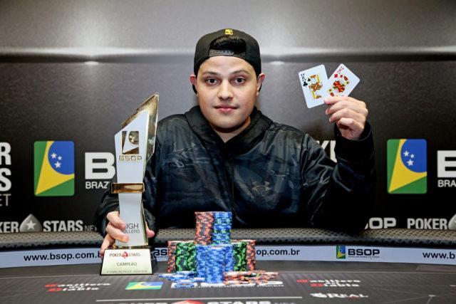 Affif Prado leva a melhor no High Roller do BSOP São Paulo/CardPlayer.com.br