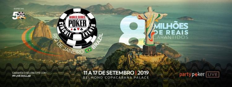 Confira o cronograma do WSOP Circuit Brasil 2019/CardPlayer.com.br