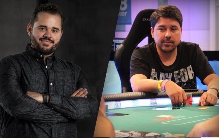 """Felipe """"Pantoja RO"""" Pantoja e Marcos """"wrawras"""" Antunes sobem ao pódio do Main Event Low do WCOOP/CardPlayer.com.br"""