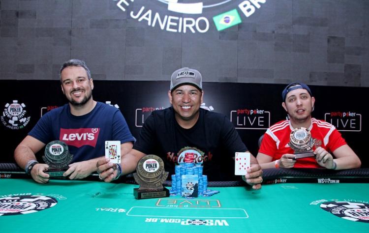 Rogério Siqueira é campeão do Big Challenger do WSOP Circuit Brasil/CardPlayer.com.br