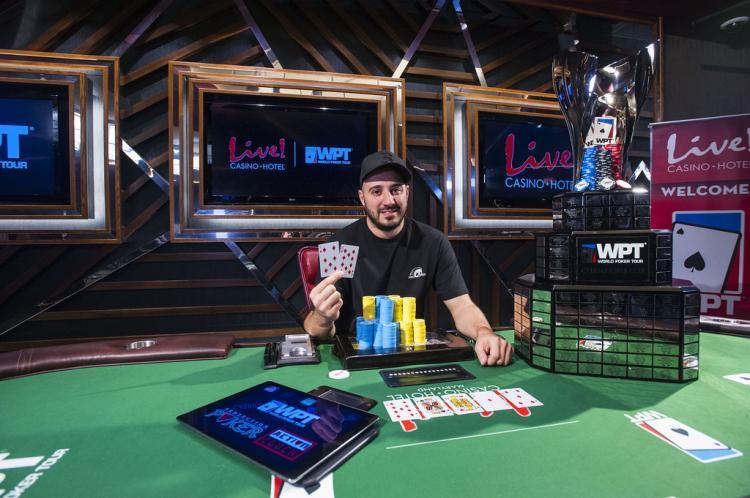 Tony Ruberto leva a melhor no WPT Maryland/CardPlayer.com.br