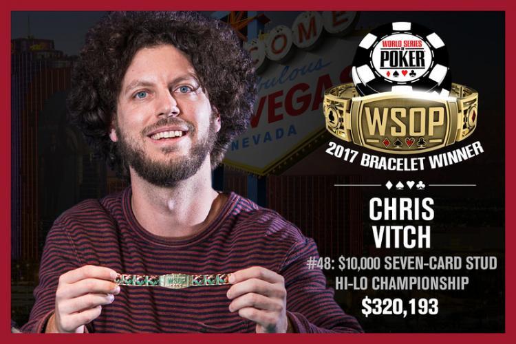 Chris Vitch fatura o seu segundo bracelete da WSOP/CardPlayer.com.br