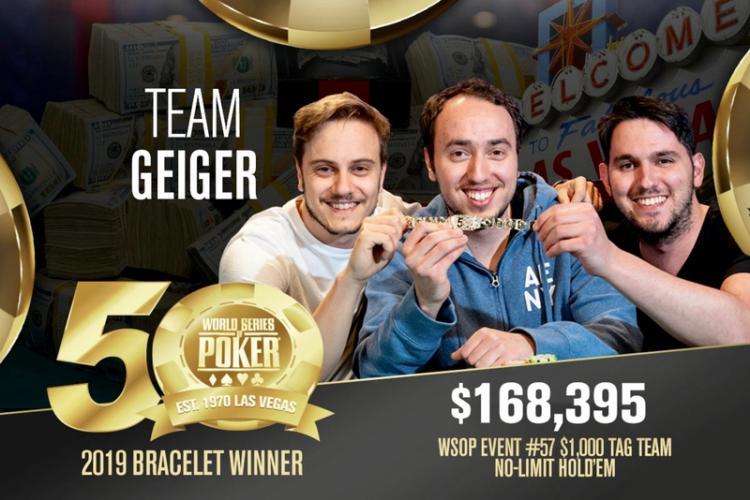 Trio israelense vence torneio por equipes da WSOP/CardPlayer.com.br