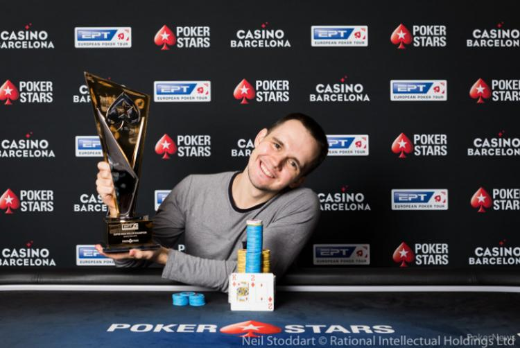 Mikita Badziakouski é campeão do Super High Roller do EPT Barcelona/CardPlayer.com.br