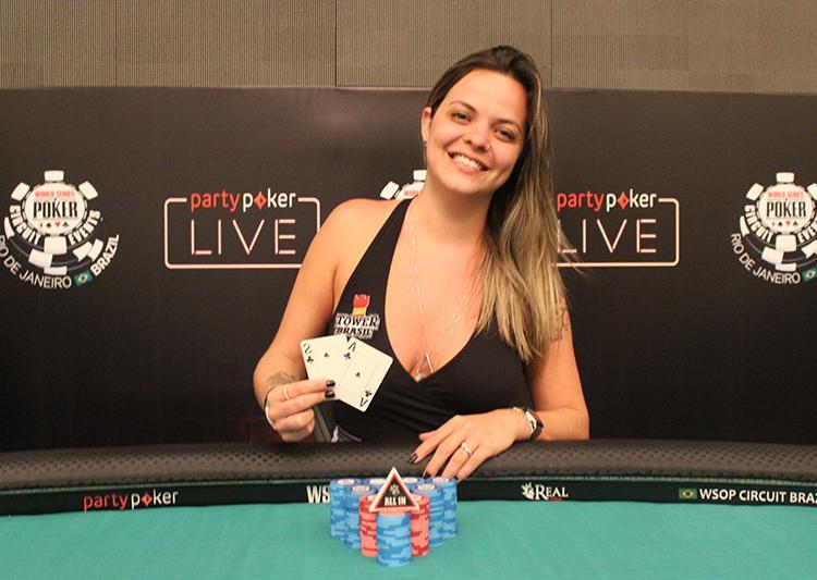 Carol Dupré é campeã do Ladies do WSOP Circuit Brasil/CardPlayer.com.br