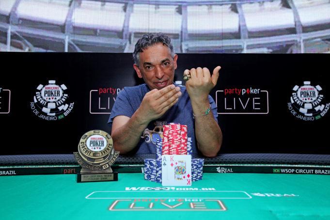 Pedro Todorovic conquista o primeiro anel de ouro do WSOP Circuit Brasil 2018/CardPlayer.com.br