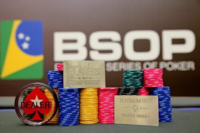 Freerolls exclusivos no BSOP Brasília vão distribuir Platinum Pass/CardPlayer.com.br
