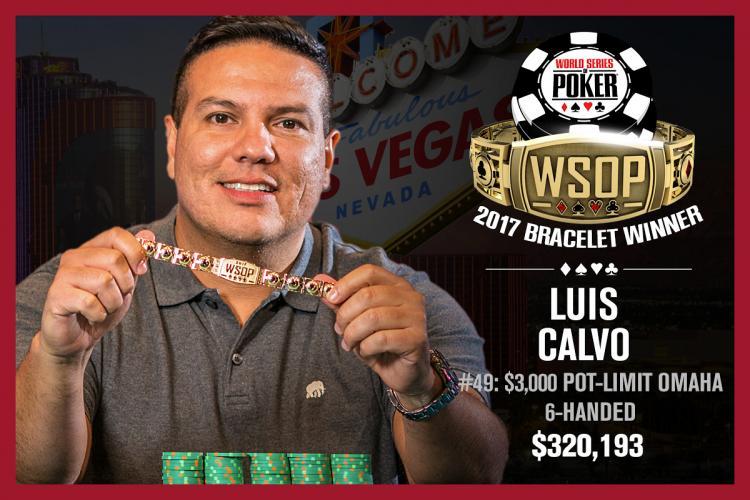 Luis Calvo vence o Evento 49 da WSOP/CardPlayer.com.br