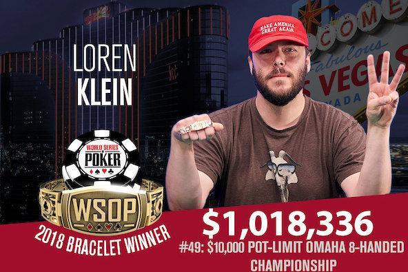Loren Klein vence na WSOP pelo terceiro ano seguido/CardPlayer.com.br