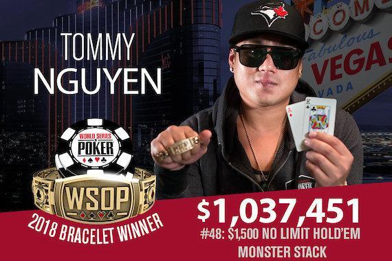 Tommy Nguyen vence Monster Stack da WSOP/CardPlayer.com.br