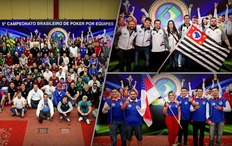 São Paulo e Amazonas lideram o Campeonato Brasileiro por Equipes/CardPlayer.com.br