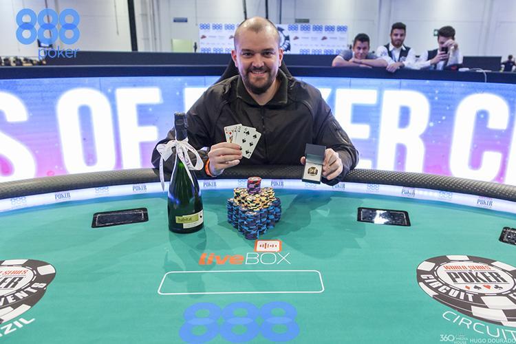 Rafael Caiaffa conquista o primeiro anel do WSOP Circuit Brasil/CardPlayer.com.br