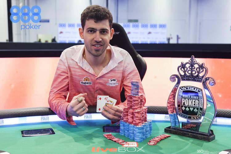 Hélio Neves crava o Super High Roller do WSOP Circuit Brasil/CardPlayer.com.br