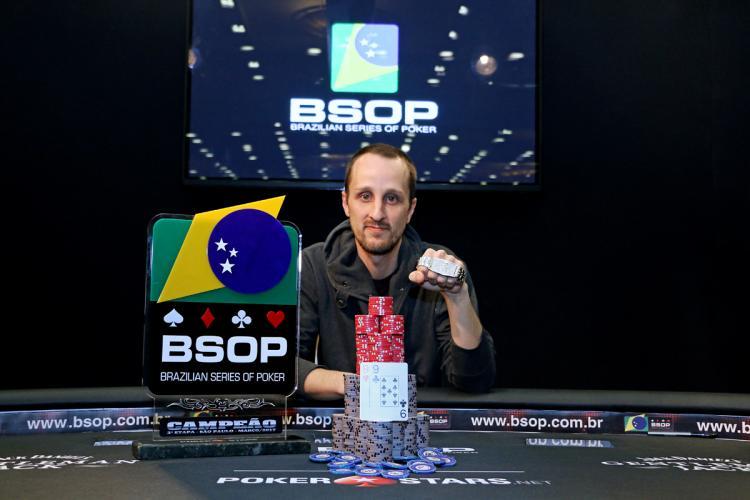 Gustavo Reis crava o BSOP São Paulo e fatura R$ 367 mil/CardPlayer.com.br