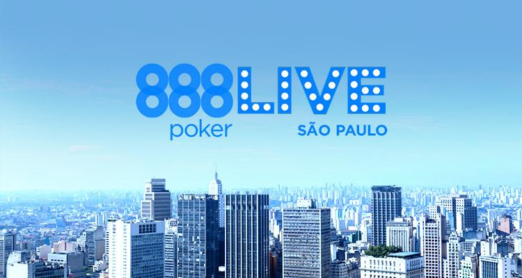 São Paulo receberá etapa do 888Live /CardPlayer.com.br