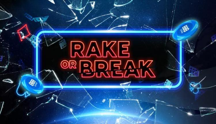 888poker promove mais três torneios do Rake or Break/CardPlayer.com.br