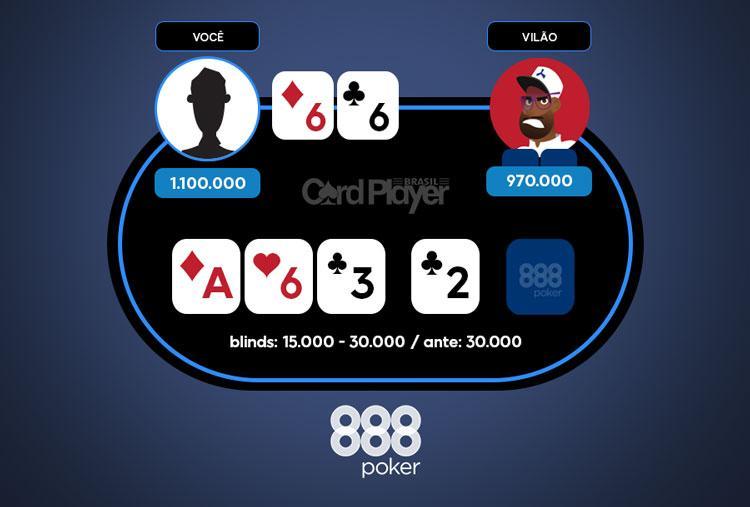 Mão da Semana - 888poker/CardPlayer.com.br