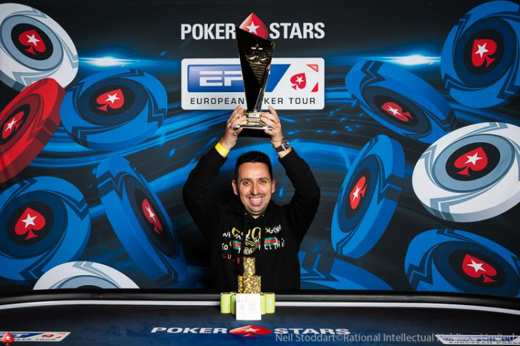 Sergio Aído crava Super High Roller do EPT Monte Carlo/CardPlayer.com.br