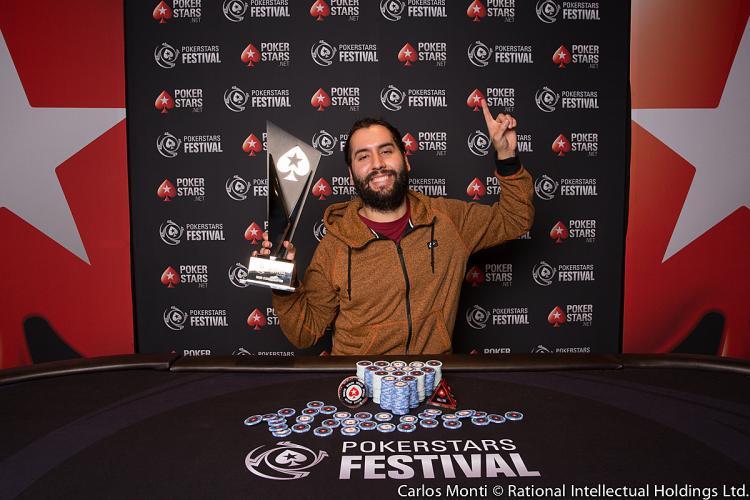 Christopher Franco leva a melhor no PokerStars Festival Chile/CardPlayer.com.br