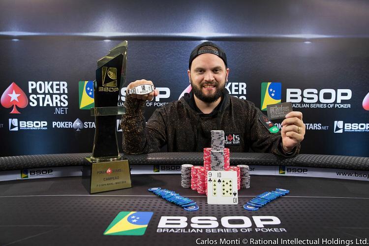 Saulo Sabioni vence em Natal e se torna o primeiro bicampeão do BSOP/CardPlayer.com.br