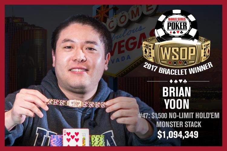 Brian Yoon conquista o título do Monster Stack da WSOP/CardPlayer.com.br