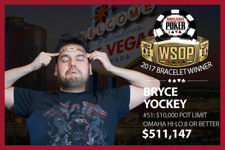 Bryce Yockey crava o Evento 51 da WSOP/CardPlayer.com.br