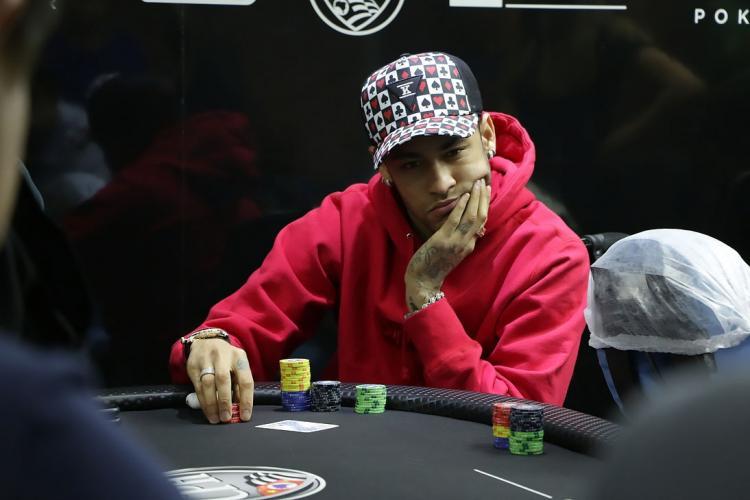 Neymar e o poker/CardPlayer.com.br