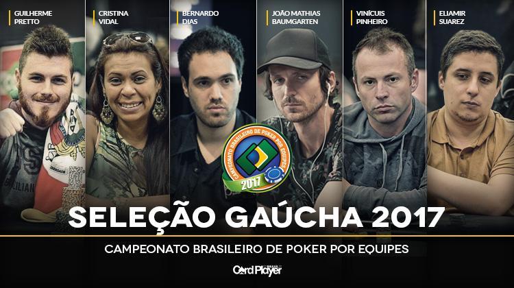 Rio Grande do Sul divulga convocação para o Campeonato Brasileiro por Equipes 2017/CardPlayer.com.br