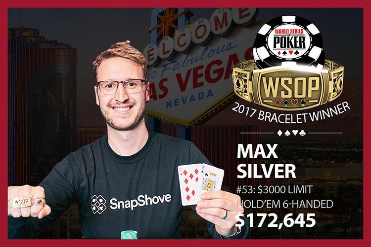 Max Silver crava o Evento 53 da WSOP/CardPlayer.com.br