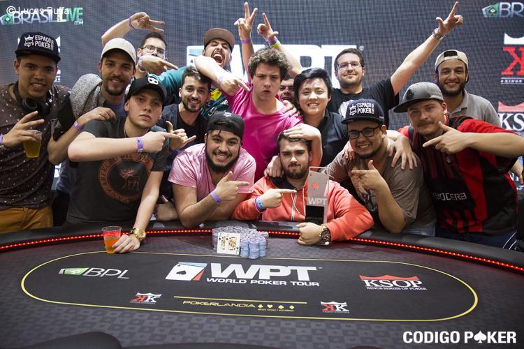 Rafael Francisquetti é o campeão do WPT Brasil/CardPlayer.com.br