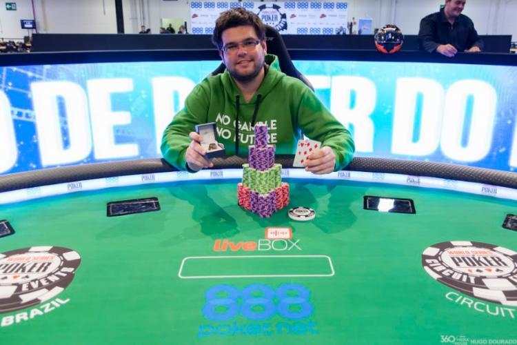 """Bruno """"Chato"""" Nunes leva a melhor no Brazilian Storm do WSOP Circuit/CardPlayer.com.br"""