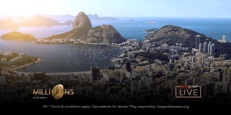 partypoker oferece vagas grátis diárias para o MILLIONS do Rio; Veja como participar/CardPlayer.com.br