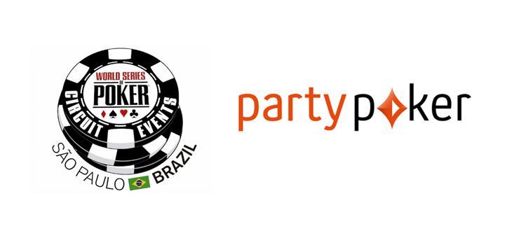partypoker é o novo patrocinador do WSOP Circuit Brasil/CardPlayer.com.br
