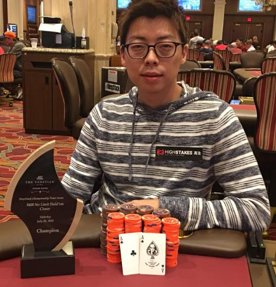 Joseph Cheong se recupera de prejuízo na WSOP com vitória no Venetian/CardPlayer.com.br