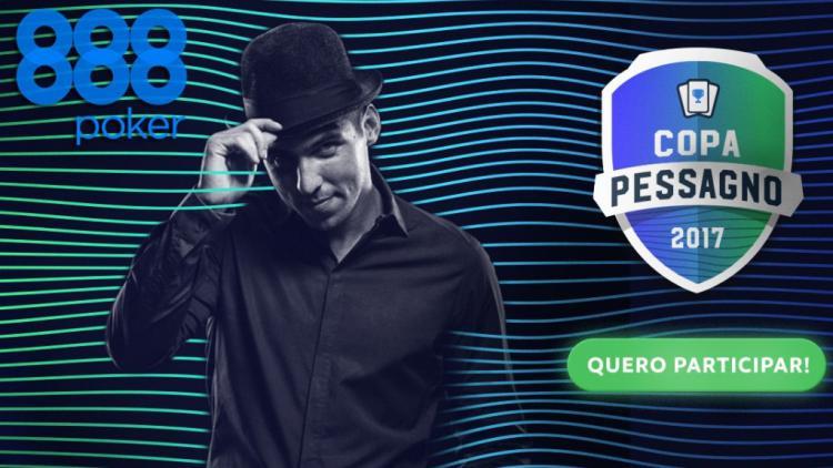 Copa Pessagno vai distribuir mais de R$ 50 mil no 888poker/CardPlayer.com.br