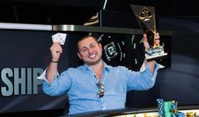 R. Sorrentino conquista o título do PSC Monte Carlo/CardPlayer.com.br