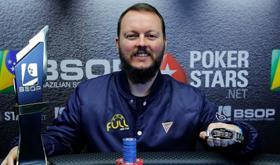 Régis Kogler conquista o título do BSOP Gramado/CardPlayer.com.br