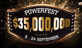 Powerfest terá 10 torneios com premiações milionárias/CardPlayer.com.br