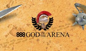 888poker realiza freerolls para ME da God of the Arena/CardPlayer.com.br
